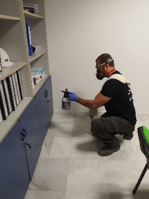 Desinfección y limpieza por Covid-19