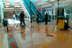 servicios de limpieza centros comerciales